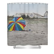 Shore Dreams Shower Curtain