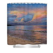 Shore Of Solitude Shower Curtain