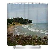 Shoreline Shower Curtain