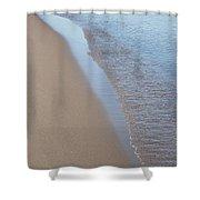 Shoreline Meditation Shower Curtain
