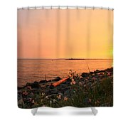 Shoreline Shades Shower Curtain