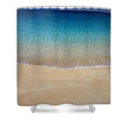 Shoreline To Horizon Shower Curtain