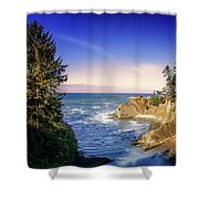 Shores Acres Cove Shower Curtain