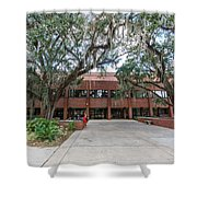 Shores Building At Florida State University Shower Curtain
