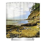Short Sands Beach, Oregon Shower Curtain