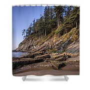 Short Sands Waterfall Shower Curtain
