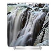 Shoshone Falls Close Up Shower Curtain