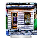Shotgun House Number 3 Shower Curtain