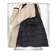 Shoulder Bag Shower Curtain