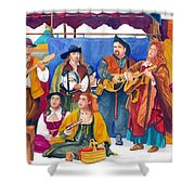 Shouldst Earlier Been Born Shower Curtain
