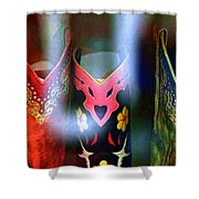 Show Boots Shower Curtain