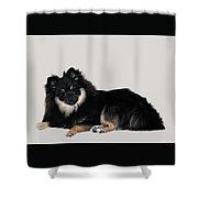 Show Girl Shower Curtain