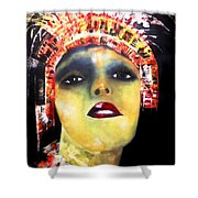 Show Girl Milly Shower Curtain
