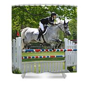 Show Jumper Shower Curtain
