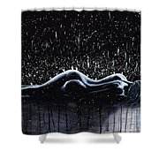 Show Me How To Live Shower Curtain