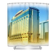 Showboat Casino - Atlantic City Shower Curtain