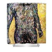 Shower Man Shower Curtain