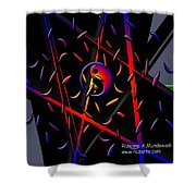 Showering Blessings Shower Curtain