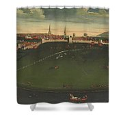 Shrewsbury And River Severn Shower Curtain