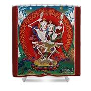 Shri Chittipati - Chokling Tersar Shower Curtain