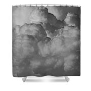 Shrimp Clouds Shower Curtain