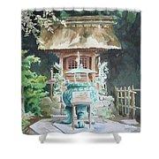 Shrine Shower Curtain