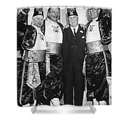 Shriner James Rolph Shower Curtain