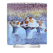 Shrooms Shower Curtain