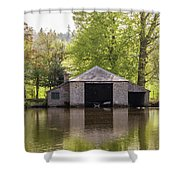 Shropshire Boathouse Shower Curtain