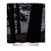 Shrouded  Soul Shower Curtain