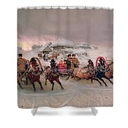 Shrovetide Shower Curtain