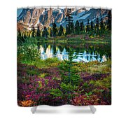 Shuksan Autumn Shower Curtain