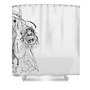 Shukufuku No Campanella Shower Curtain
