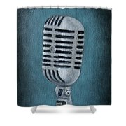 Shure Thing Shower Curtain