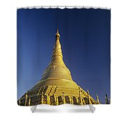 Shwedagon Paya Shower Curtain
