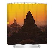 Shwesandaw Paya Temples Shower Curtain