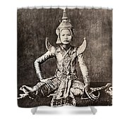 Siam: Dancer, C1870 Shower Curtain