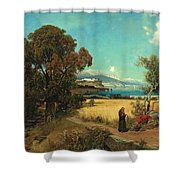 Sicilian Scene Shower Curtain