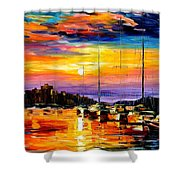 Sicily - Messina Shower Curtain