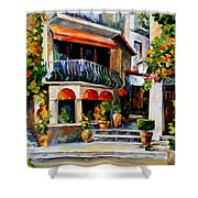 Sicily - Spring Morning Shower Curtain