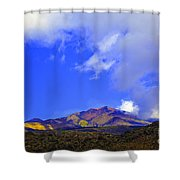 Sicily Mountain Top Shower Curtain