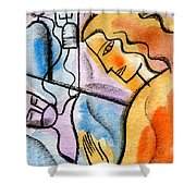 Sickness And Healing Shower Curtain