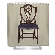 Side Chair (one Of Six) Shower Curtain