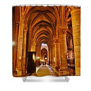 Side Hall Notre Dame Cathedral - Paris Shower Curtain