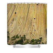 Side Of Devils Tower Shower Curtain