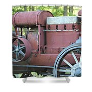 Side Of Mccormic Deering Tractor   # Shower Curtain