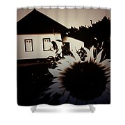 Side Of The Sun Shower Curtain by Jerry Cordeiro