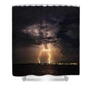Side Show Shower Curtain
