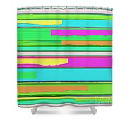 Side Streets 2 Shower Curtain