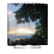 Side Ways Glance Of Nature Shower Curtain